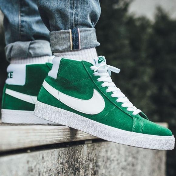 Nike Shoes   Nike Blazer Mid Suede Pine